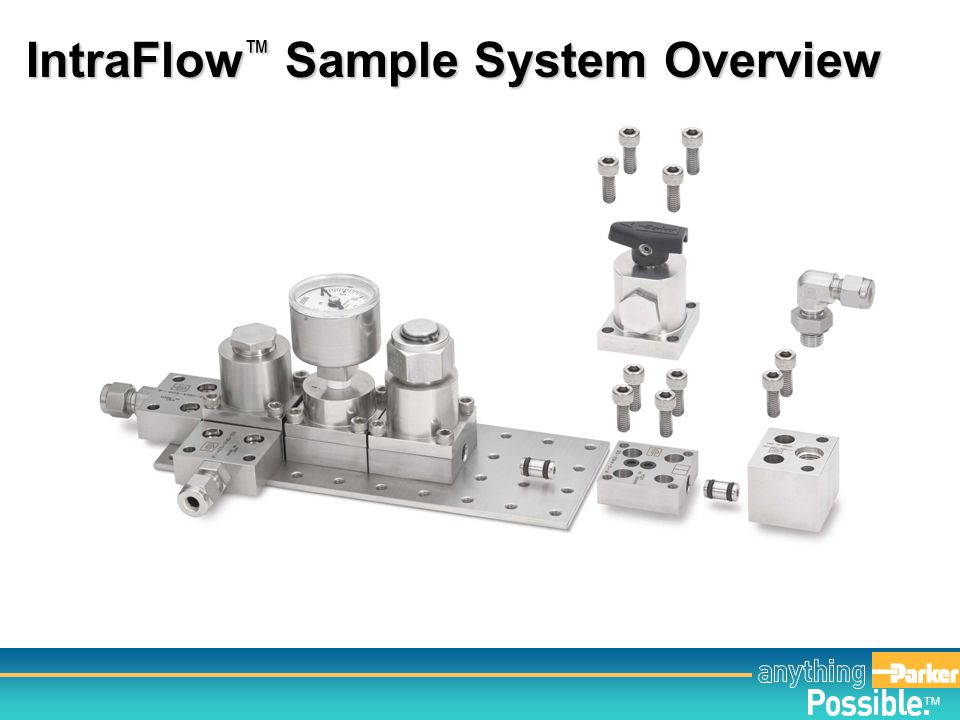 TM Examples of IntraFlow ™ Systems Deployed