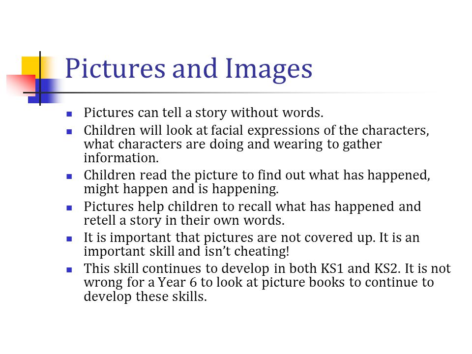 Reading and discussion in KS1 Reading is a discussion about the book as well as reading aloud.