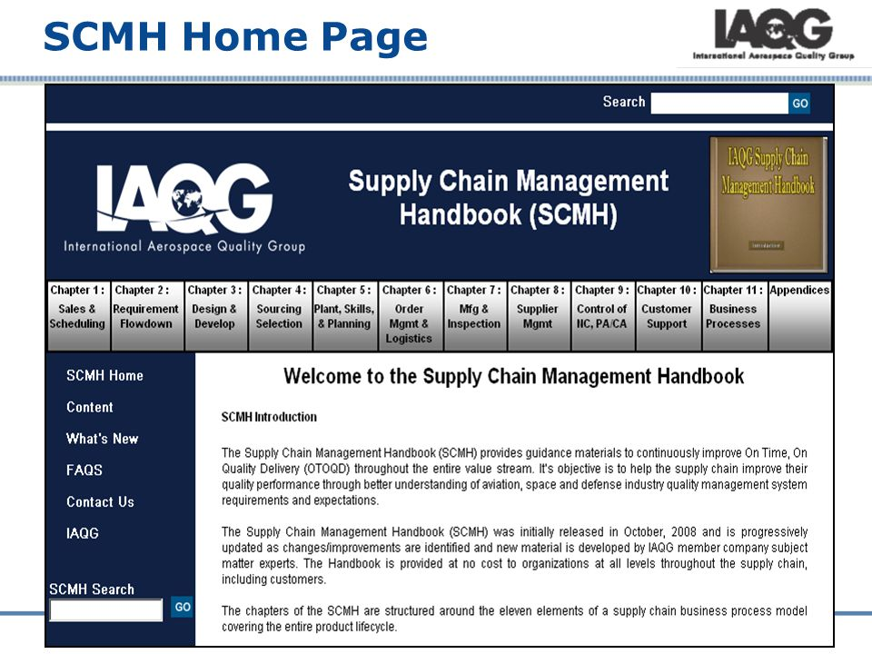 SCMH Home Page