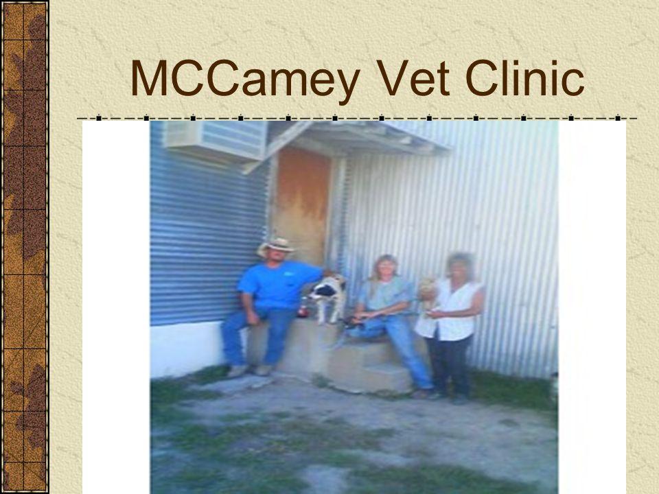 MCCamey Vet Clinic