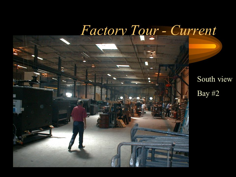 Factory Tour - Current Storage area-pre- crating and Will Call