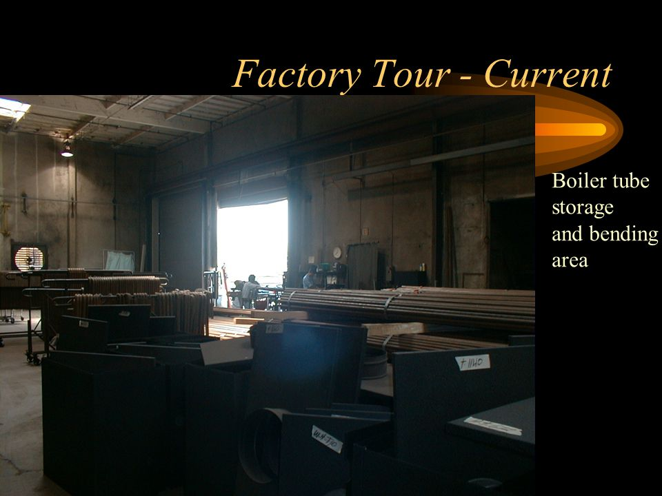 Factory Tour - Current Crating Department Bay#1