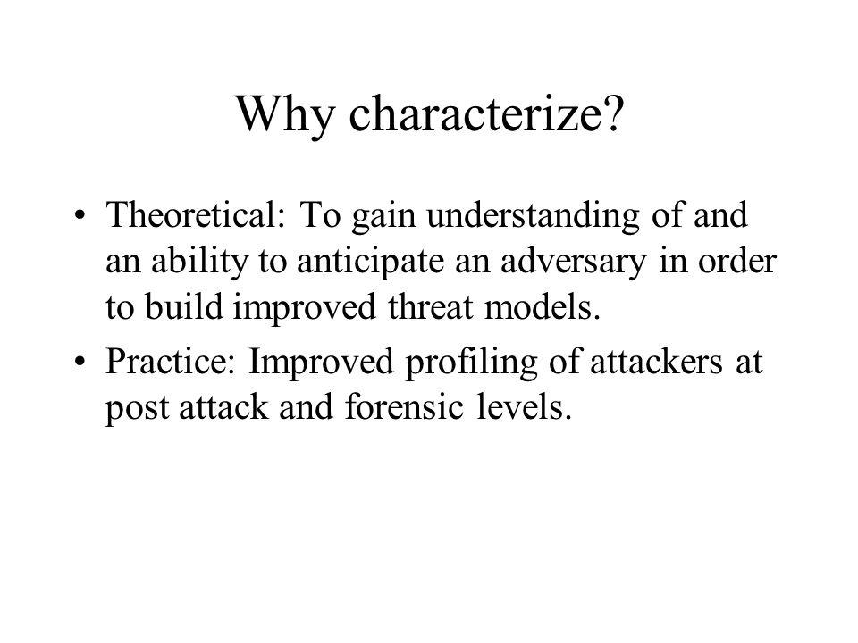 Internet Threat Actors Marcus H.