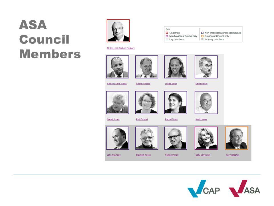 ASA Council Members