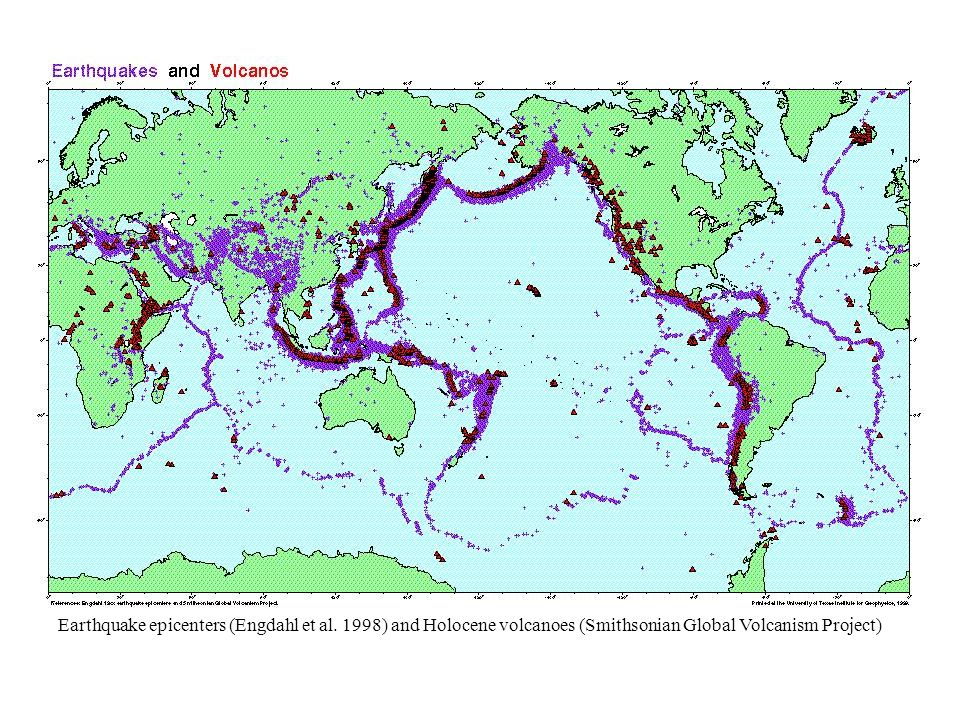Data oSeafloor-spreading data (anomalies/fracture zones) oFree-air gravity data (constrains fracture zones, shelf edges, other features) oHotspot data/tracks, large igneous provinces oPaleomagnetic data Onshore geologic data