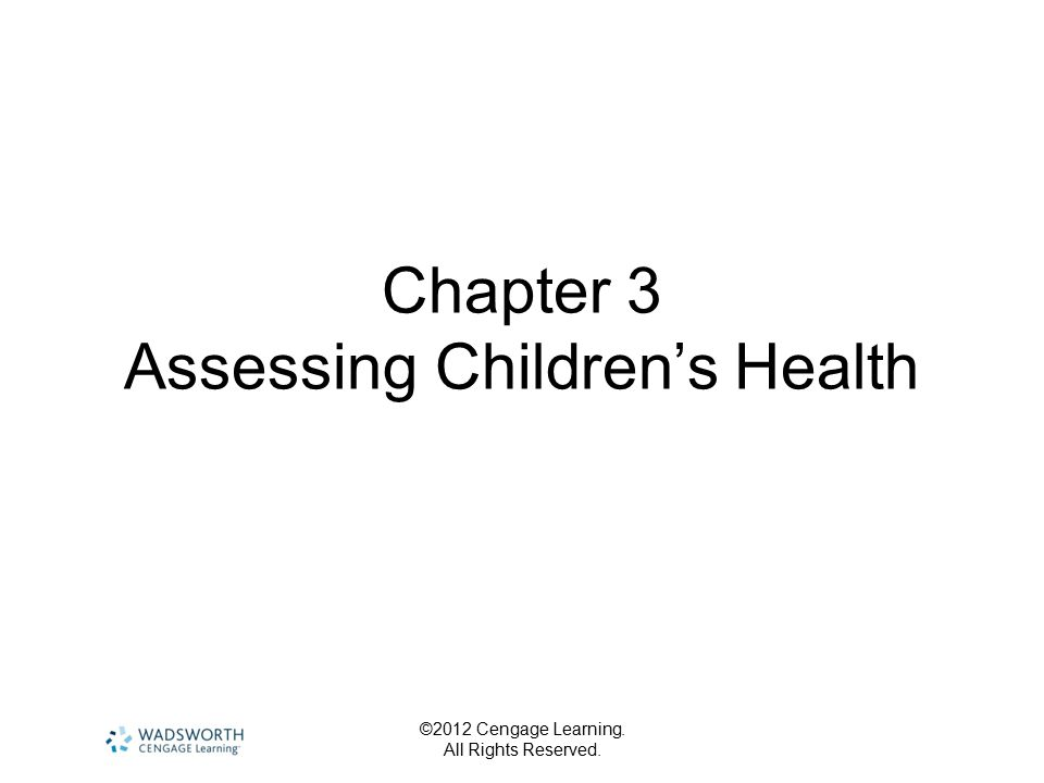 ©2012 Cengage Learning.All Rights Reserved. Health Information…..