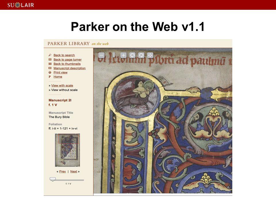 Parker on the Web v1.1
