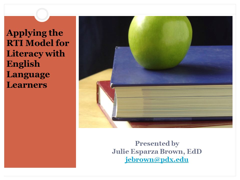 Comprehension The most difficult reading component for ELL students is comprehension.