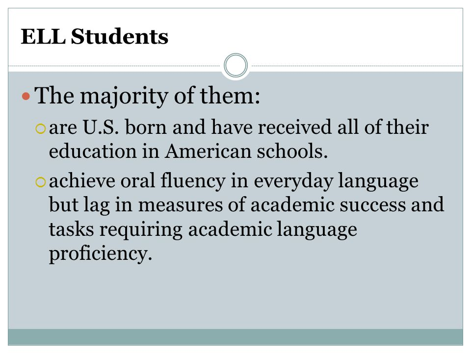 Appropriate Student Responses for Language Acquisition Stages