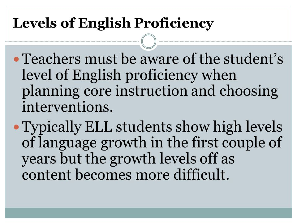 Summarizing the Research These factors correlate with later reading achievement in L1 and/or L2:  Phonological awareness  Print awareness  Alphabetic knowledge  Rapid naming Assessing these skills may provide early predictors of reading and help identify students who may benefit from additional literacy instruction.
