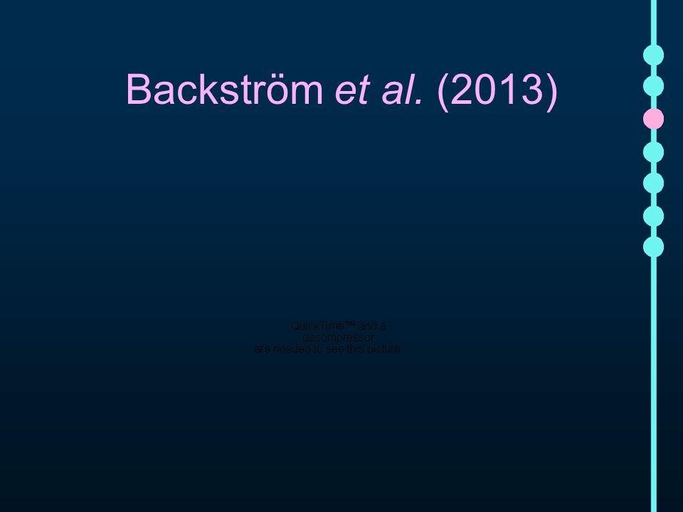 Backström et al. (2013)