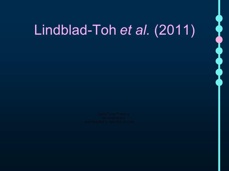 Lindblad-Toh et al. (2011)