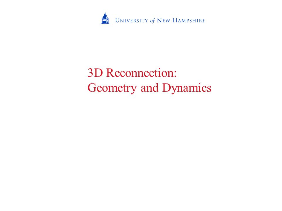 3D Reconnection: Geometry and Dynamics
