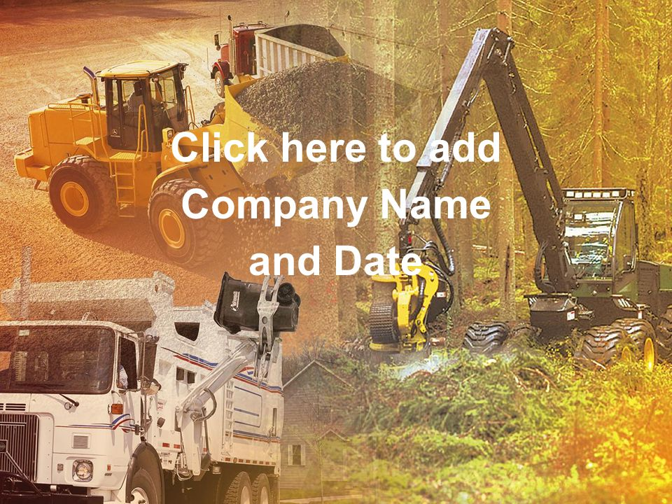 Click here to add Company Name and Date