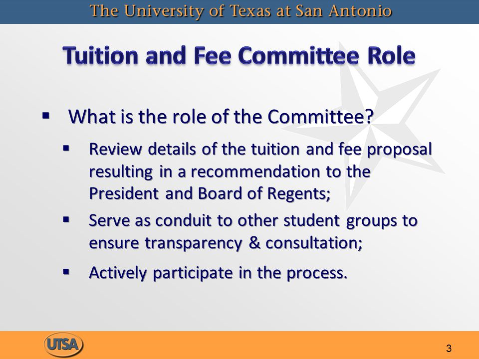 3   What is the role of the Committee.