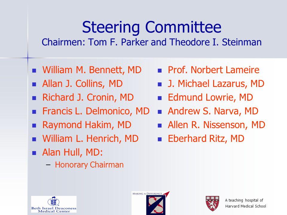 A teaching hospital of Harvard Medical School Sponsors with appreciation Platinum Level –Amgen –Genzyme