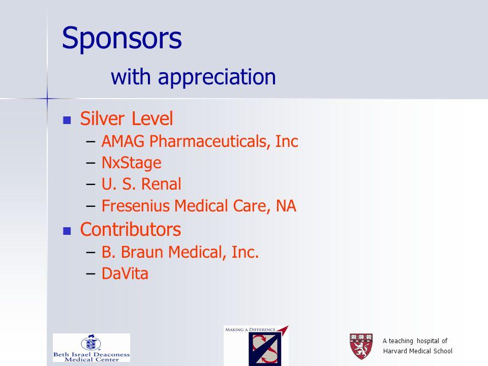 A teaching hospital of Harvard Medical School