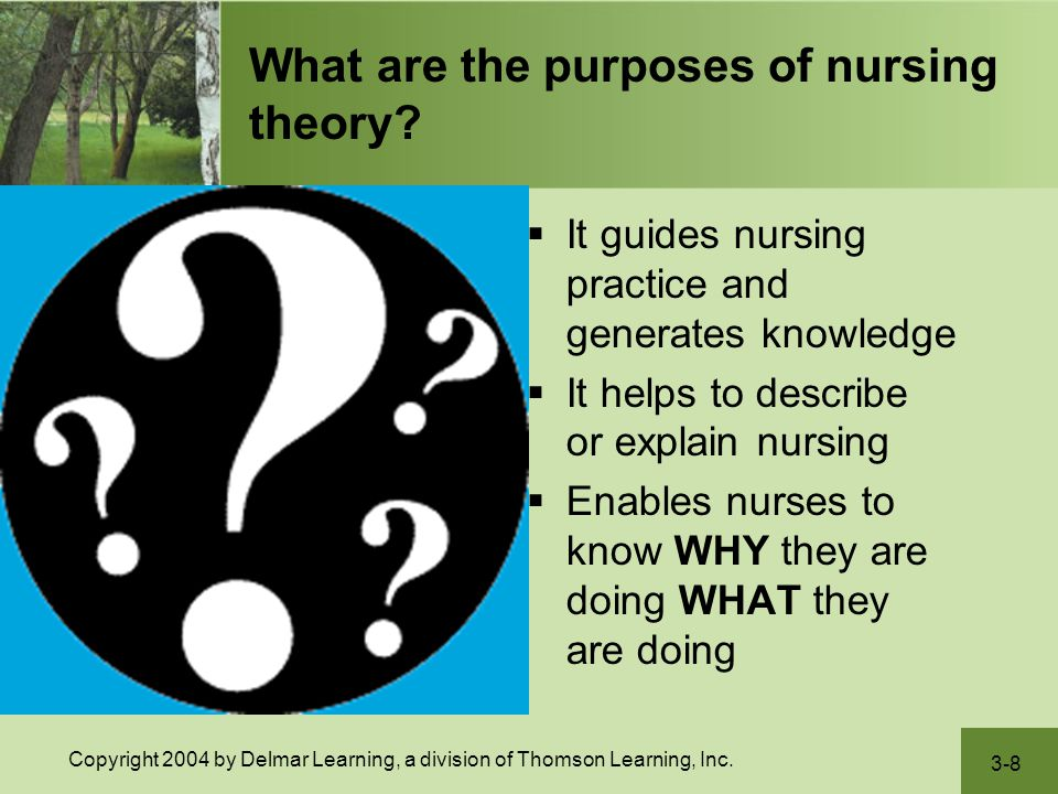 Practicing nurses who despise theory are condemned to performing a series of tasks - either at the command of a physician or in response to routines and policies. Leah Curtin, RN, MS, FAAN (1989) Former Editor, Nursing Management