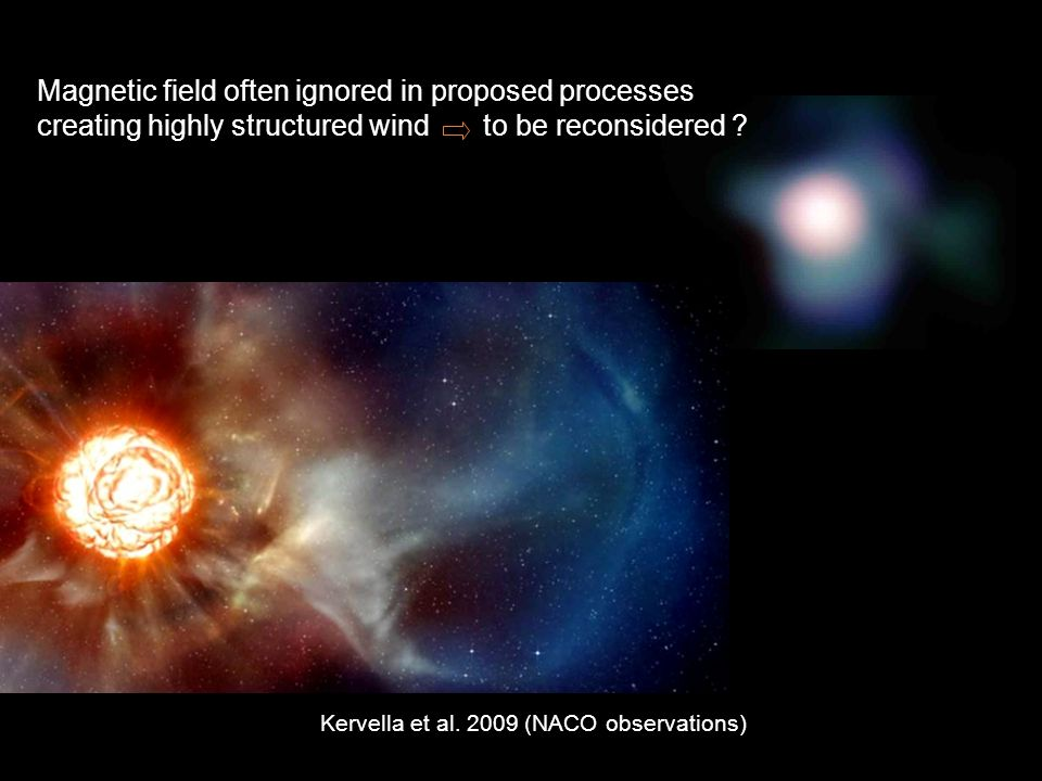 Magnetic field often ignored in proposed processes creating highly structured wind to be reconsidered .