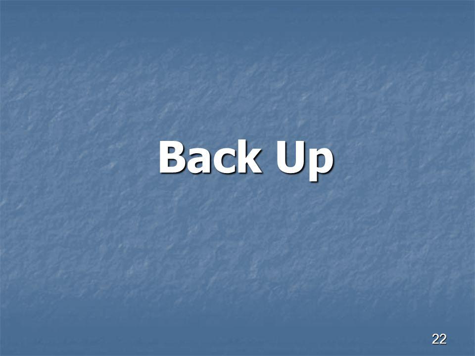 22 Back Up