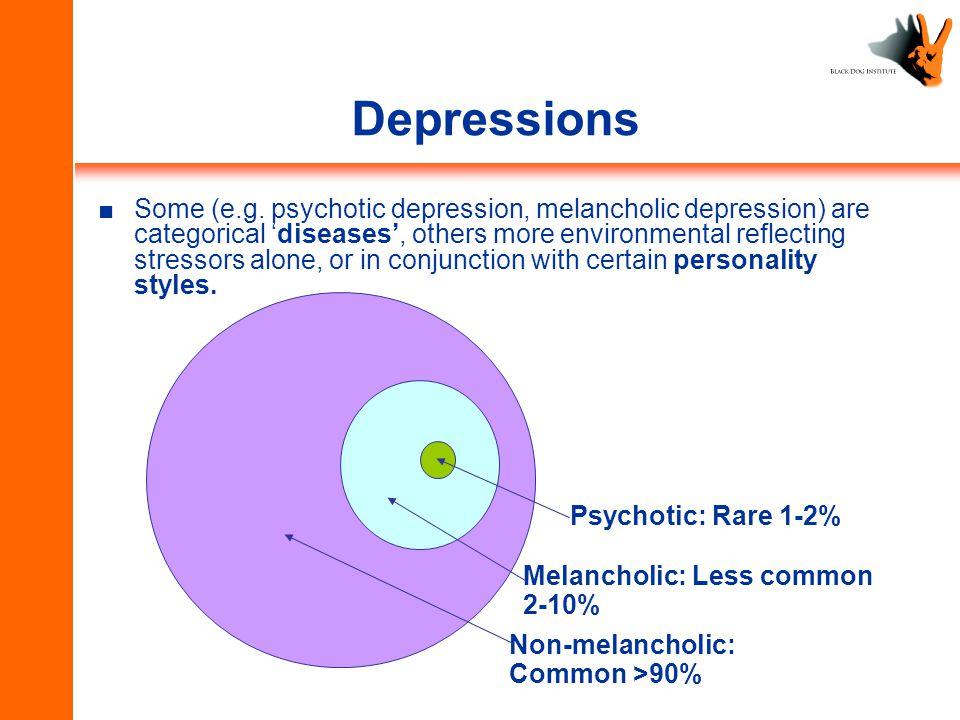 Depressions ■Some (e.g.