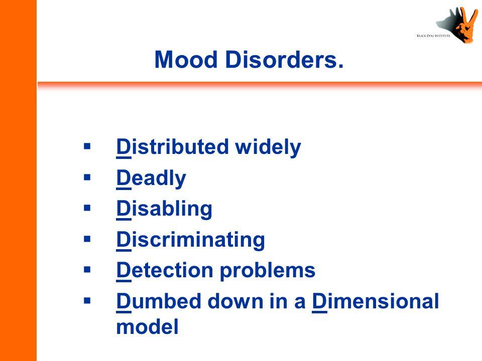 Mood Disorders.