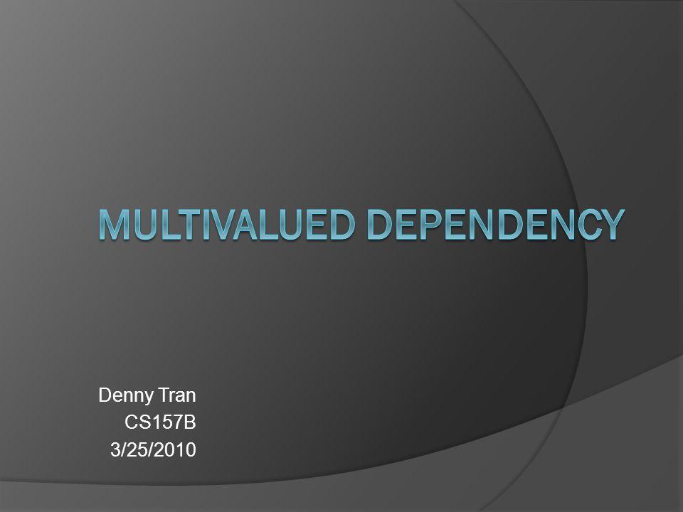Denny Tran CS157B 3/25/2010