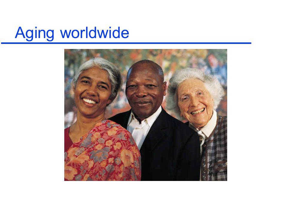 85 80 75 70 65 60 55 50 45 40 35 30 25 20 15 10 5 Population in millions Age UK 2016 Parker 2001