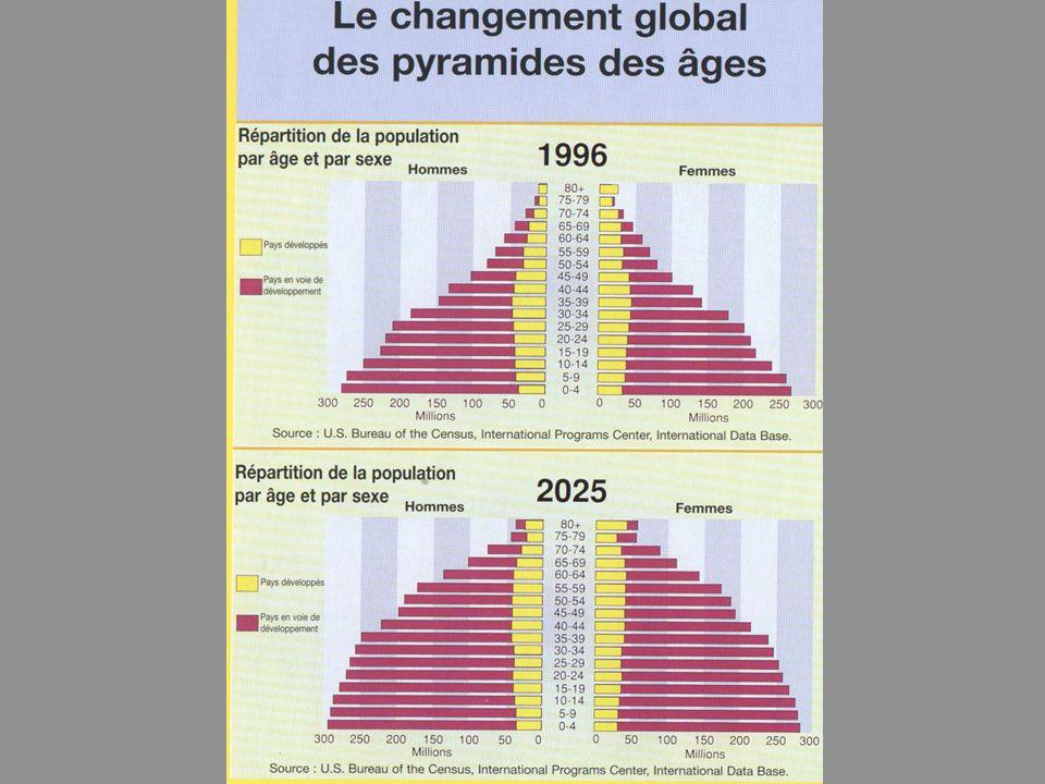 85 80 75 70 65 60 55 50 45 40 35 30 25 20 15 10 5 Population in millions Age Structure of the population UK 1991, Pr Stuart PARKER, University of Sheffield