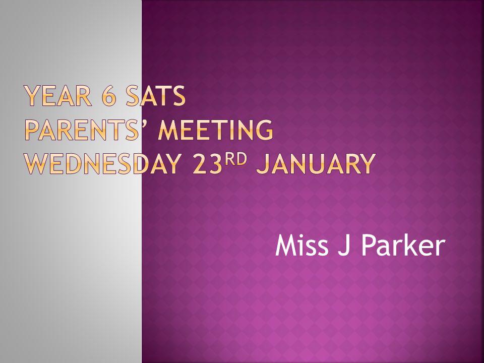 Miss J Parker