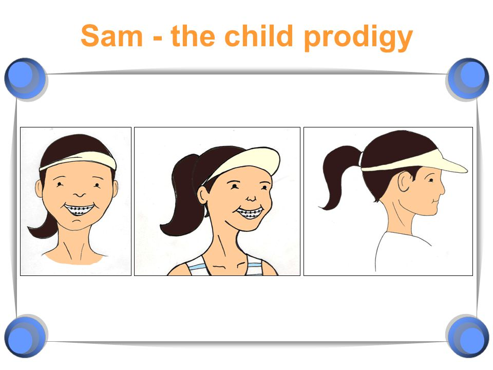 Sam - the child prodigy