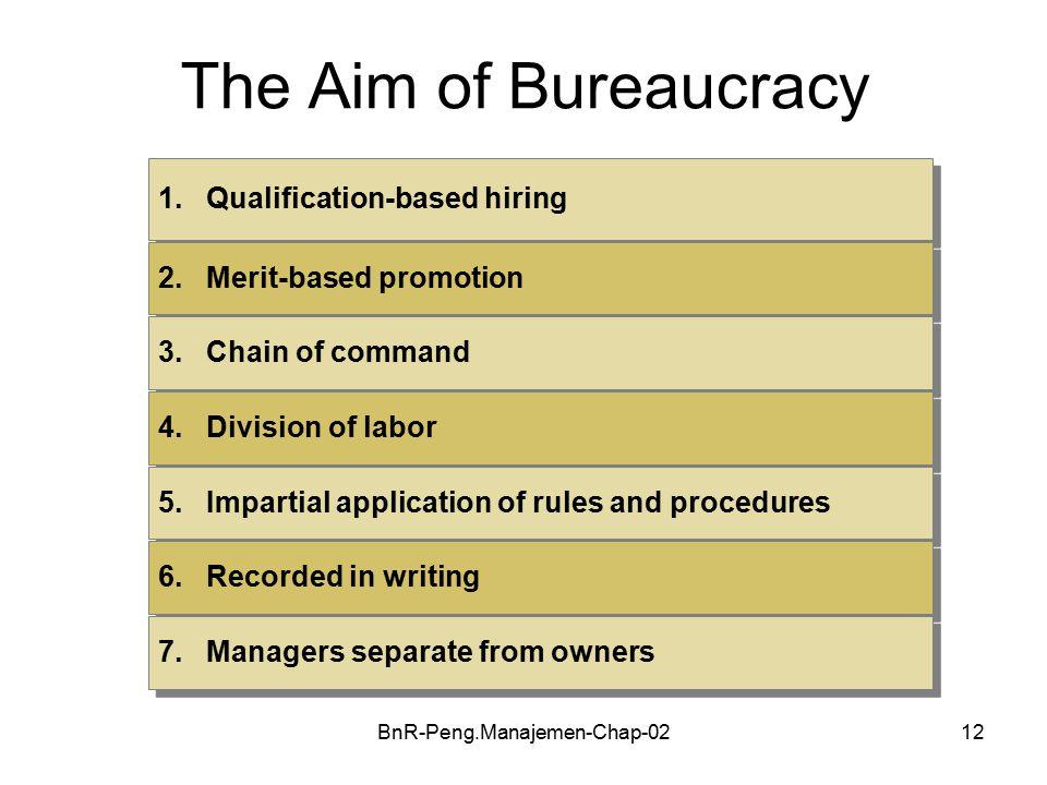 BnR-Peng.Manajemen-Chap-0212 The Aim of Bureaucracy 1.