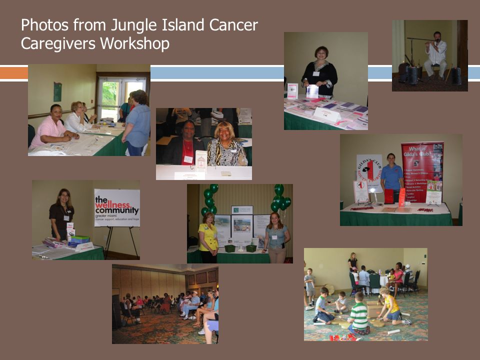 Photos from Jungle Island Cancer Caregivers Workshop