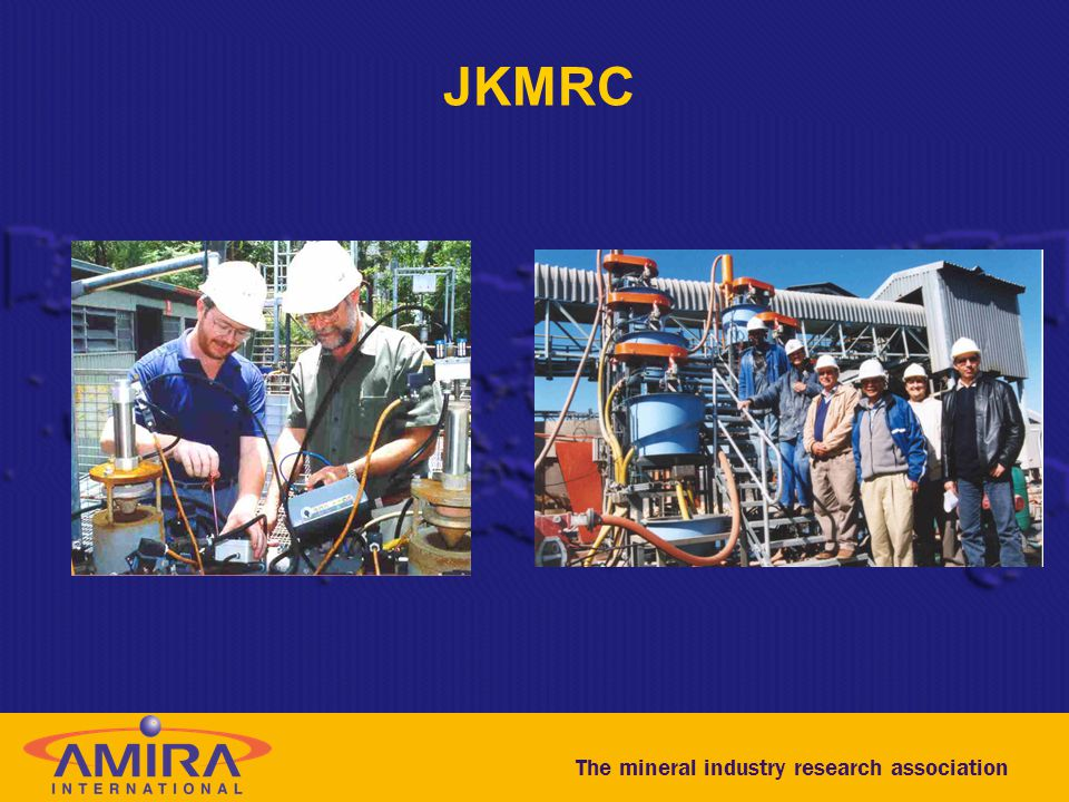 The mineral industry research association JKMRC