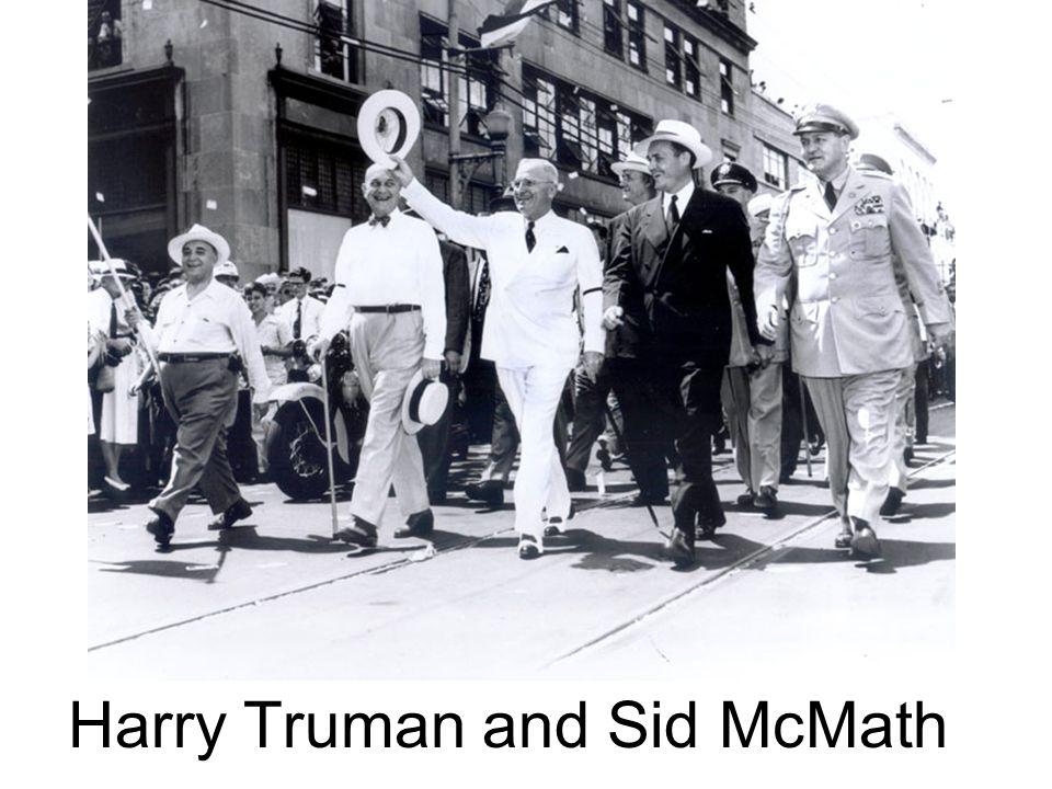 Harry Truman and Sid McMath