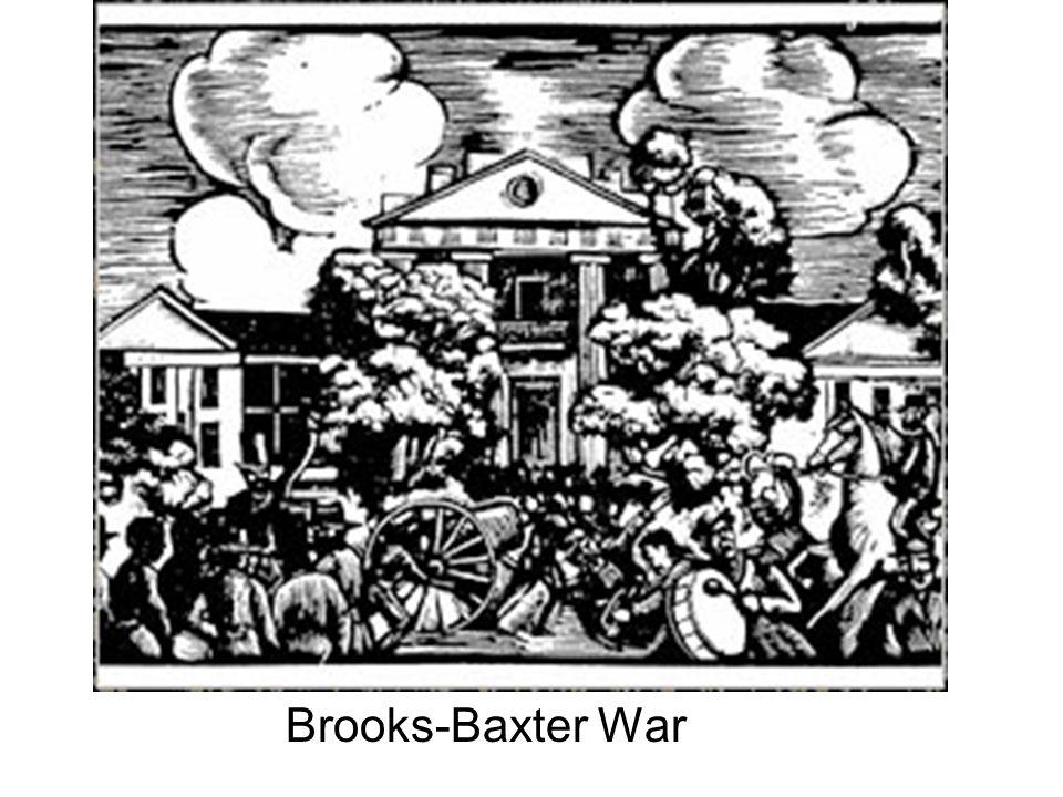 Brooks-Baxter War