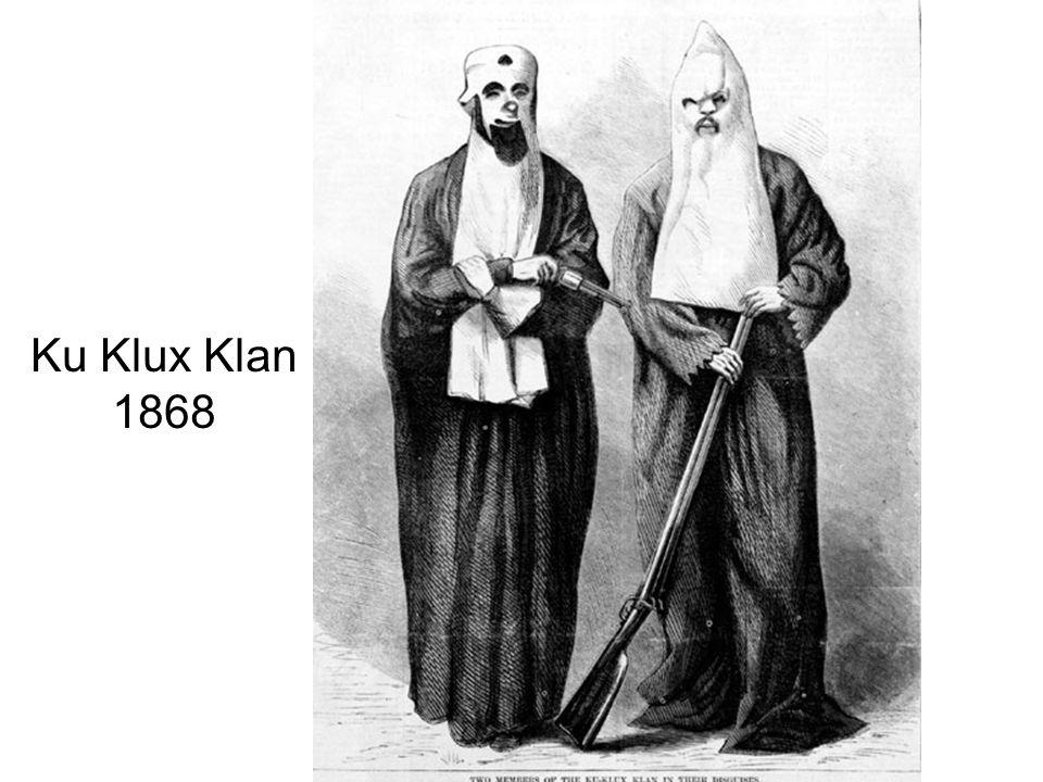 Ku Klux Klan 1868