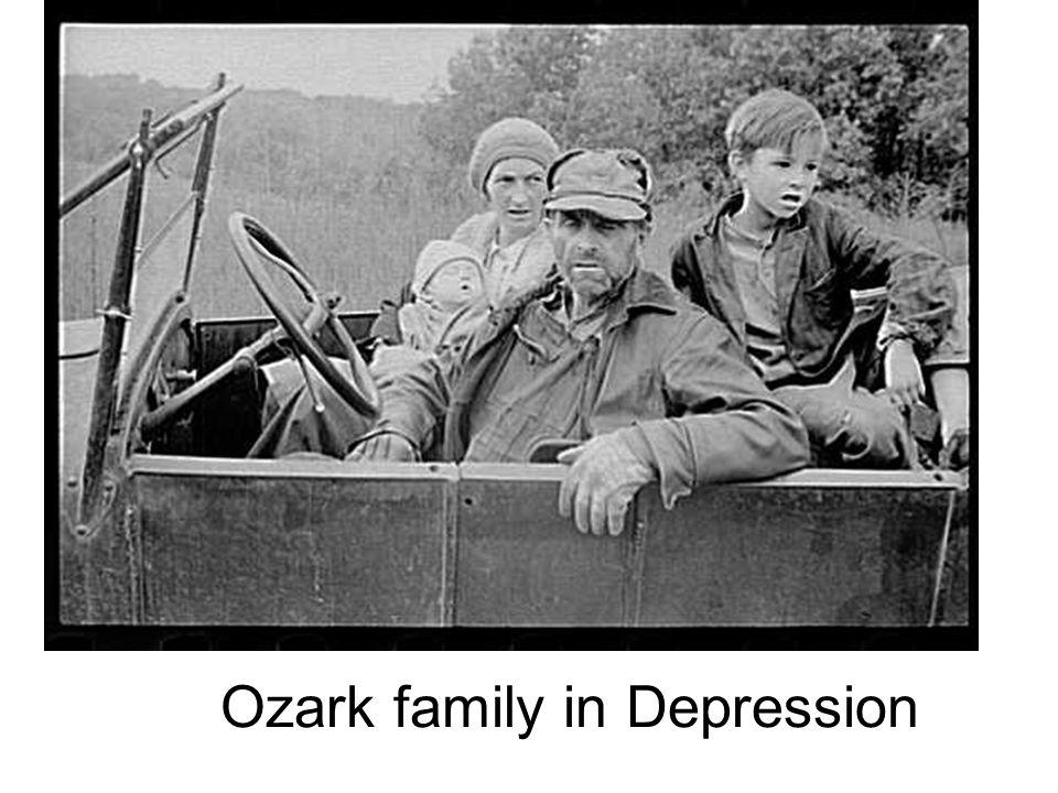 Ozark family in Depression