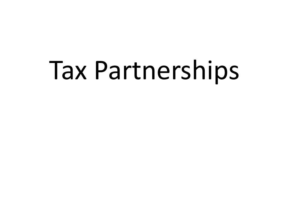 Tax Partnerships