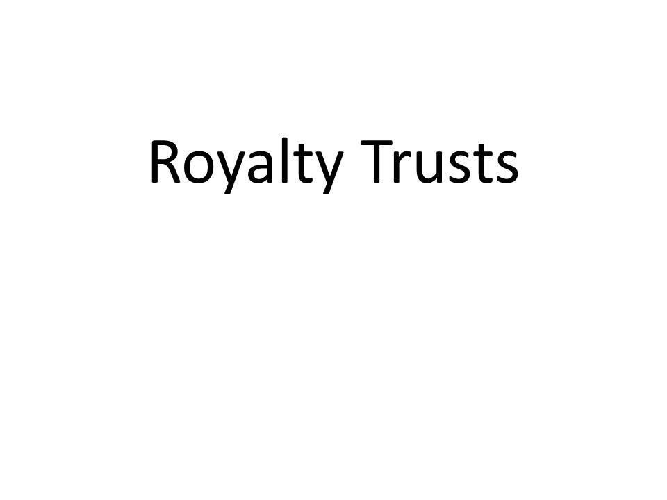 Royalty Trusts