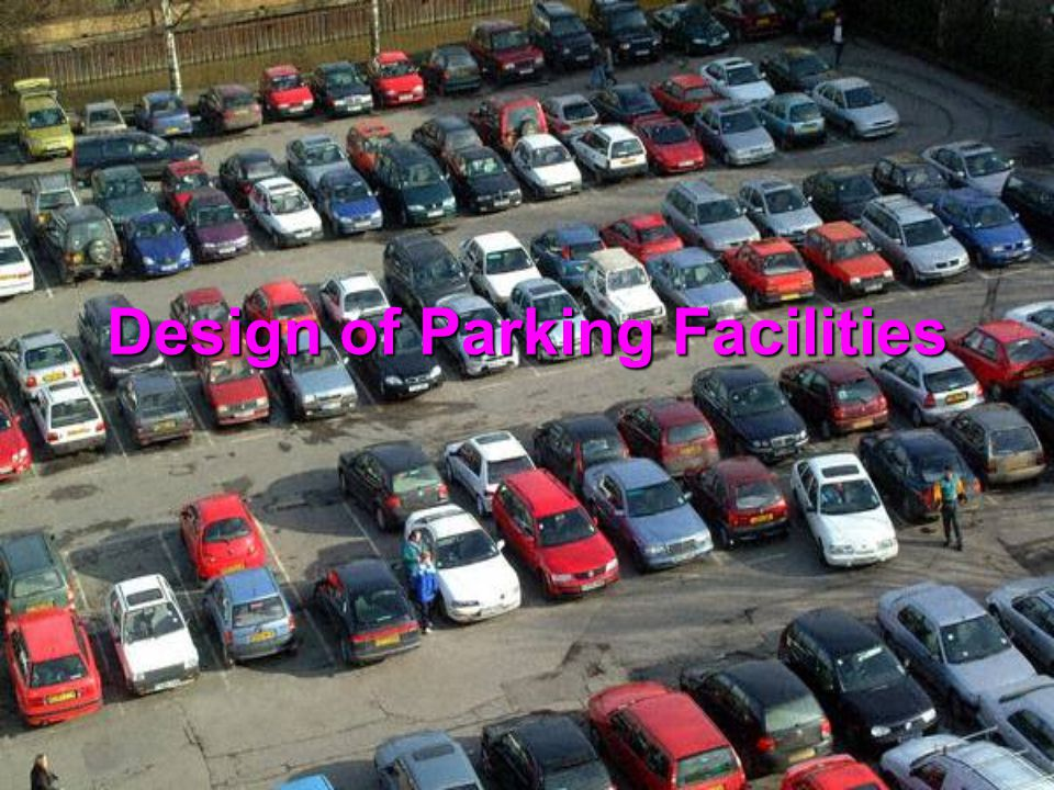 Type of Operations Self Parking, each car is driven only by the parker and the car can be locked when left, delays in retrieving parked vehicles are minimised, and insurance costs are lower for the car park operator Attendant Parking, car is driven by car park operator