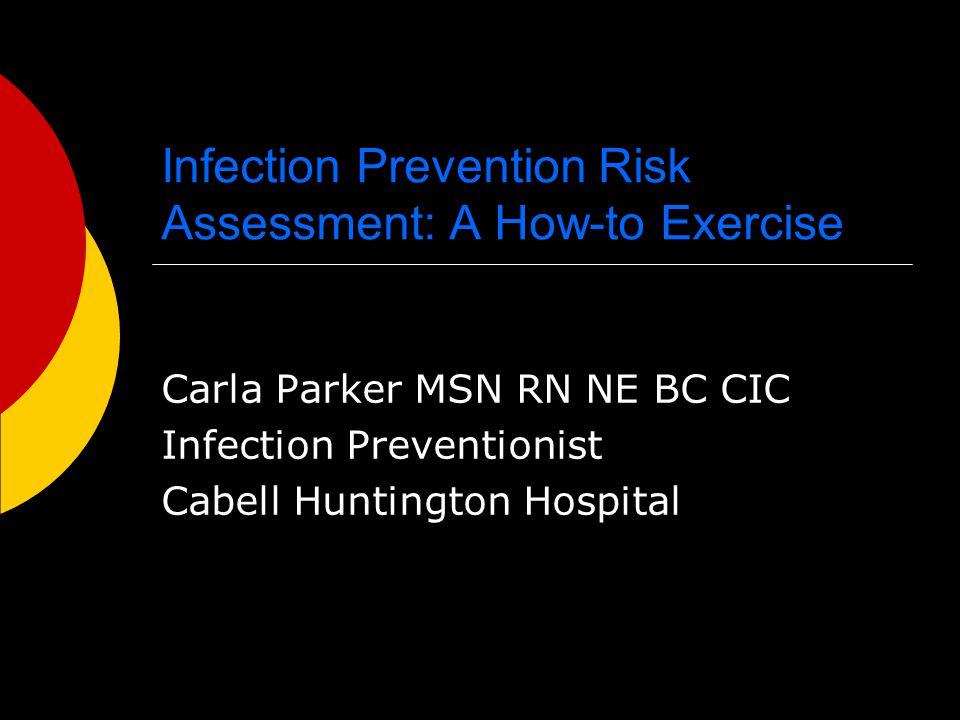 Sample Risk Assessment Tools