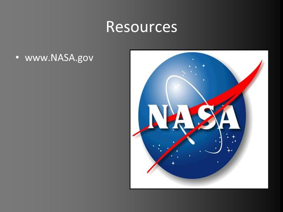 Resources www.NASA.gov