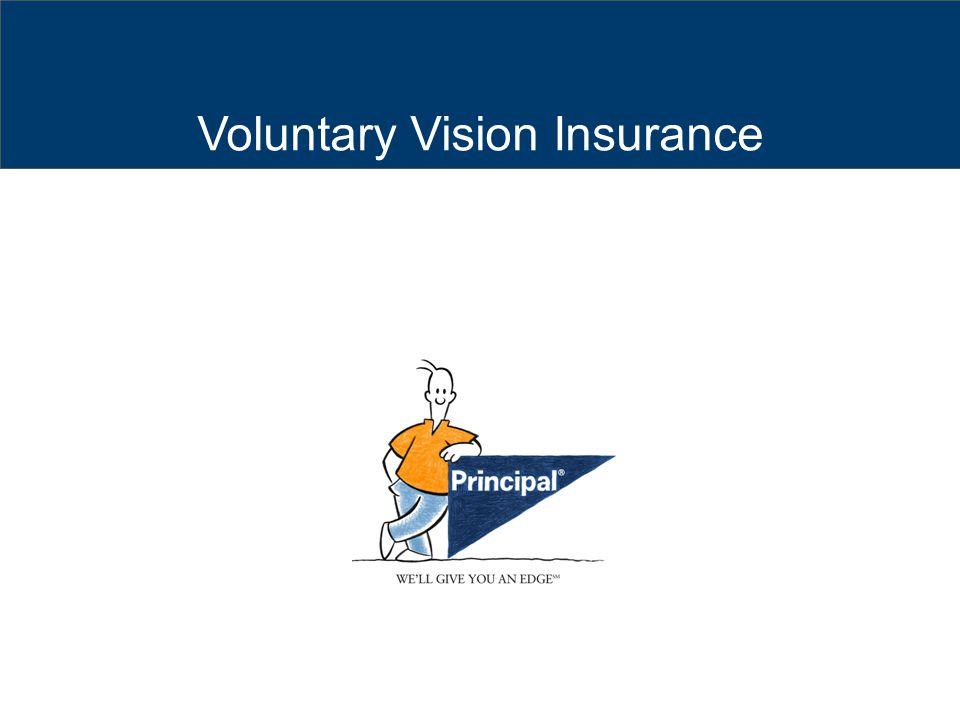 Voluntary Vision Insurance