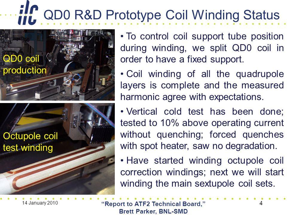 IWLC2010: International Workshop on Linear Colliders, 20-Oct-2010 ILC QD0 R&D Update, Brett Parker, BNL-SMD 15 (A.