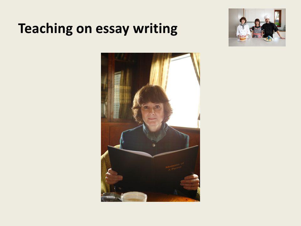 Teaching on essay writing