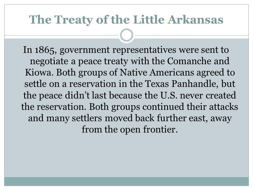 By Bryan Haynes Treaty of the Little Arkansas 1865 - Black Kettle Speaks