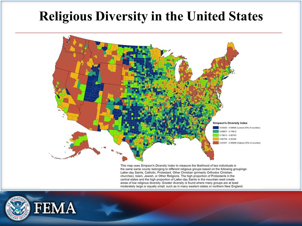 Religious Diversity in the United States
