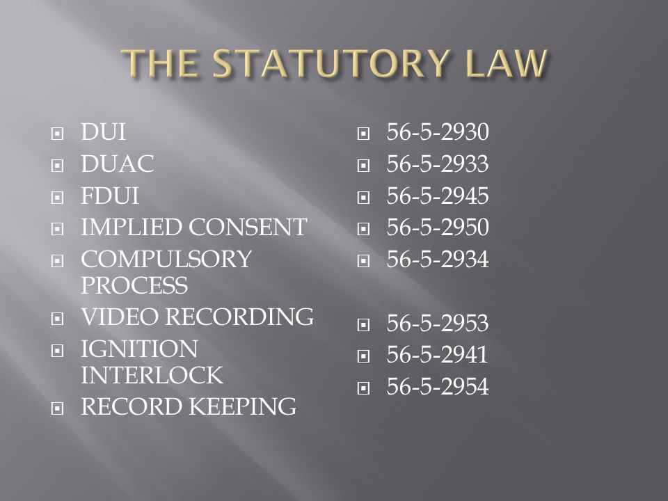  HAVE A SYSTEM  KNOW THE RULES  KNOW THE SCIENCE  KNOW WHERE TO START  KNOW THE LAW