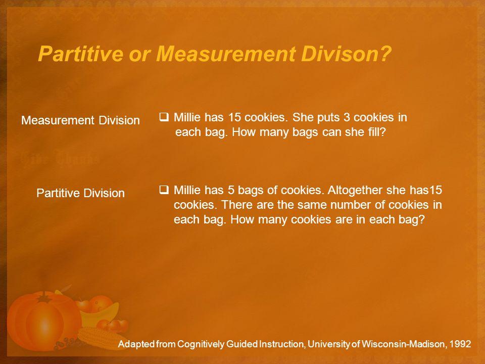 Partitive or Measurement Divison. Manuel has 24 pencils.